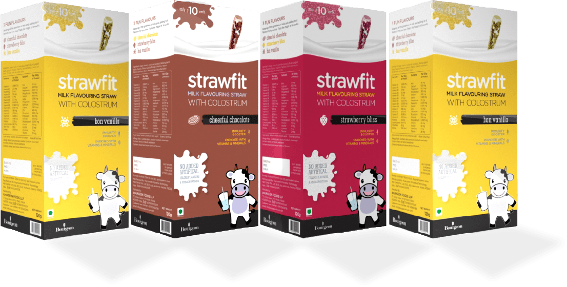 Strawfit Packaging | Milk Flavouring Straw | alfyi client | alfyi.com
