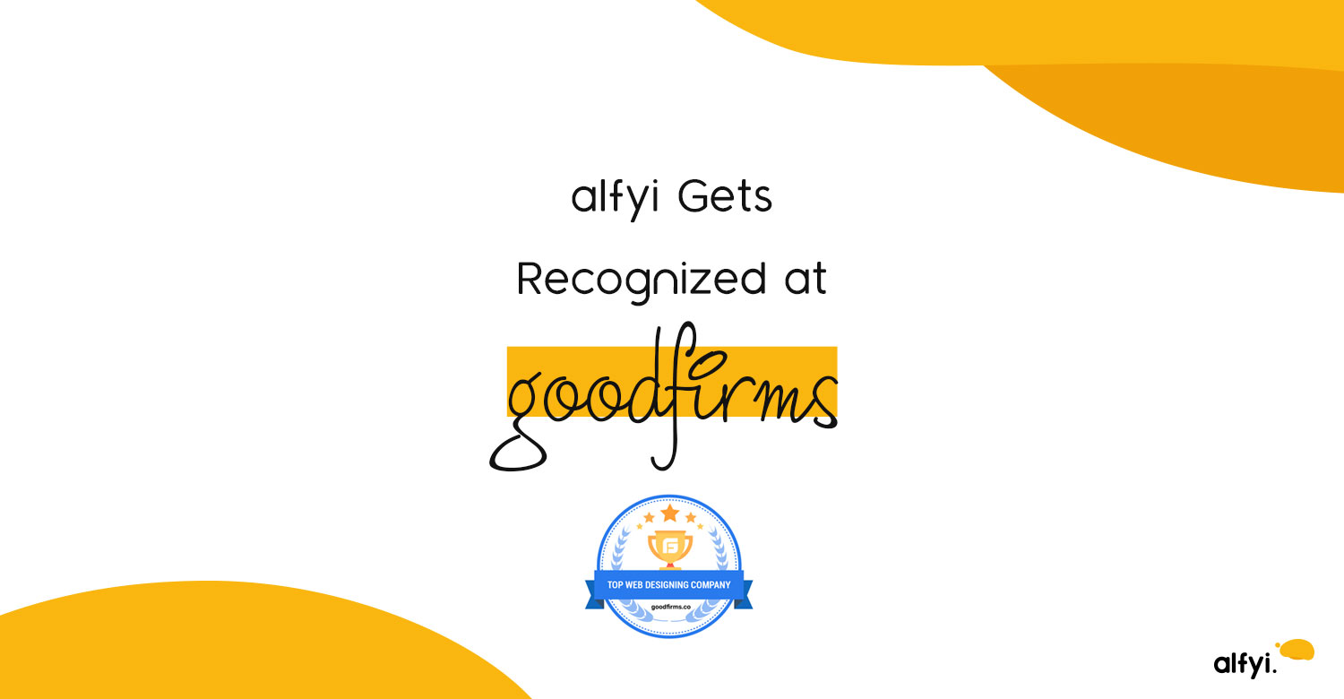 alfyi Gets Recognized at Goodfirms | alfyi | alfyi.com